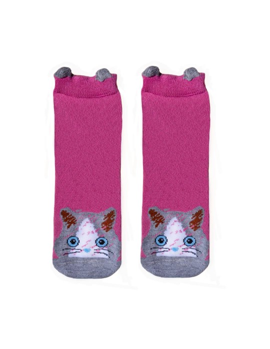 KID FUN Socks 3D Ears Cat