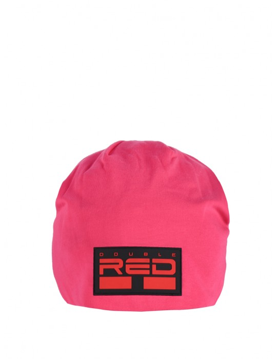 DOUBLE RED BEANIE Pink