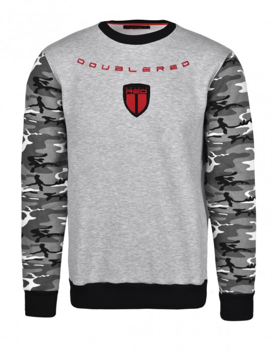 Soldier Sweatshirt Grey/Camo