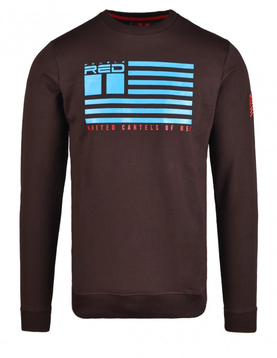 United Cartels Of Red UCR Brown Sweatshirt