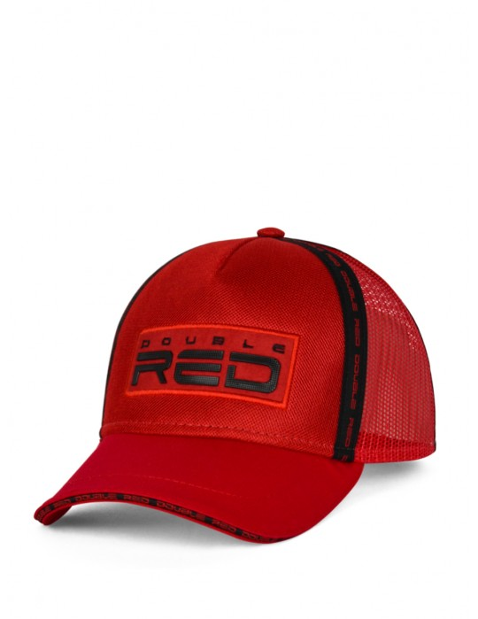 DOUBLE RED EXQUISIT Cap Red