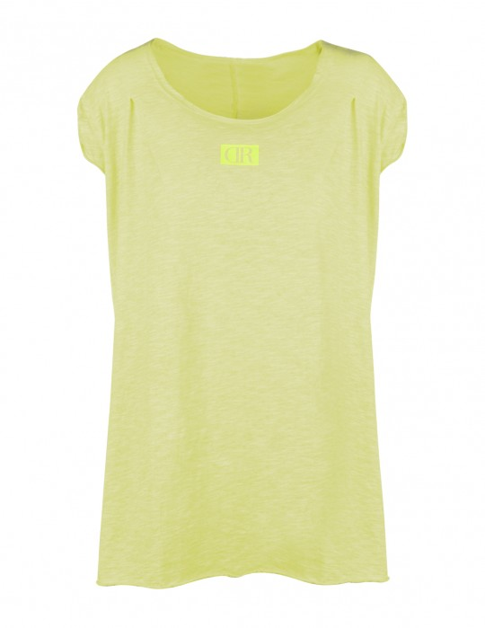 Limited Flowy T-Shirt Yellow